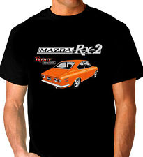MAZDA  RX2  COUPE   ROTARY 12A 13B  BLACK  T-SHIRT  MEN'S  LADIES  KID'S SIZES