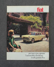 G807 - Advertising Pubblicità - 1962 - FIAT , L'AUTOMOBILE DESIDERATA