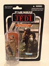 "Star Wars Vintage Collection ROTJ Rebel Commando 3.75"" Figure VC27 Kenner MOC"