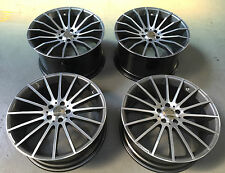 "20"" GENUINE CARLSSON STAGGERED ALLOY WHEELS FITS MERCEDES E CLASS SALOON COUPE"