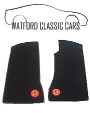 MGB GT & MGB Roadster Footwell Carpet Mats with MG LOGO