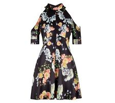 NEW + WHISTLES + AIKO PRINT JOSEPHINE DRESS + SIZE UK + 12