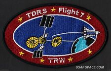 TDRS FLIGHT 7 STS-70 IUS TRW NASA Tracking and Data Relay Satellite SPACE PATCH