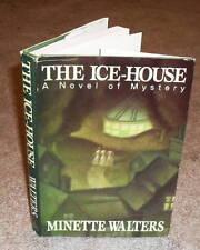 Minette Walters - The Ice House - HB/DJ TRUE 1st US ed / 1st ptg 1992