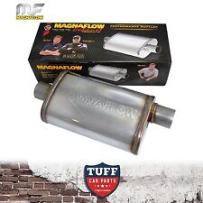 "Magnaflow Stainless Steel 2.5"" Muffler Oval 14"" x 8"" x 5"" 14226 Center Offset"