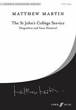 The St Johns College Service Sacred Mixed Voices Intermediate FABER Music BOOK