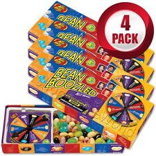4 Pack BEAN BOOZLED Spinner Game 3.5oz Jelly Belly ~ Weird & Wild Flavors Candy