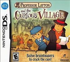 Professor Layton and the Curious Village (Nintendo DS, 2008)