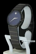 Orologio movado gold donna museum SWISS nero WATCH black 84 c6 881 acciaio steel