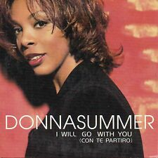 "DONNA SUMMER ""I WILL GO WITH YOU (CON TEPARTIRO)"" RARE 2 TRACKS CD SINGLE"