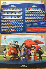 Disney Infinity 2.0 Double Sided Poster - 23inch x 17inch - Character Checklist