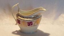 Pink & gold design vintage pre Victorian antique jug