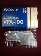 Sony VFA-100 View Finder Adapter Brand New in Box!