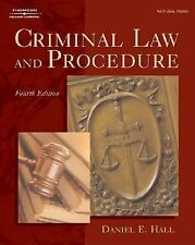 New Criminal Law And Procedure by Daniel E Hall Fourth Edition Book