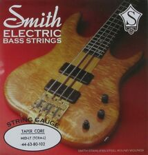 KEN SMITH TCRM-L STAINLESS STEEL TAPER CORE BASS STRINGS, MEDIUM LIGHT. 44-102