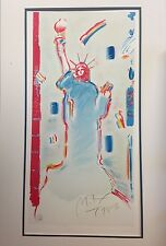 Peter Max Statue of Liberty (Limited edition artist's proof)