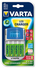 1 x Varta Charger Power LCD incl. 4 x AA 2600 + USB+12V