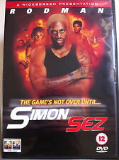 Dennis Rodman SIMON SEZ ~ 1999 Action / Thriller ~ UK DVD