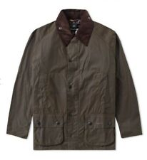 UNISEX NEW BARBOUR CLASSIC BEDALE OLIVE SIZE  C 34 Rare size