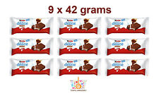 9 x Kinder Delice Soft Chocolate Bars with Cocoa and Milk 9 x 42g