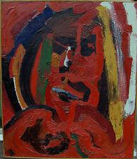 Per Fredrik Glomme 1930-2000 , Rosso Testa, datato 1966