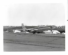 Canadian Armed Forces Boeing 707 Airplane 13702 B & W photo