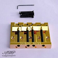 CORDIER CHEVALET BASSE 4 cordes OMEGA BASS BRIDGE 4 strings GOLD   BB-3350-002