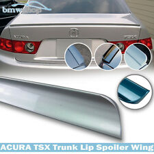 Painted NH700M Acura TSX 1st Sedan Trunk Lip Spoiler Wing 2004 2008