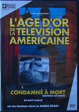 DVD CONDAMNE A MORT - James DEAN / Gene LYONS / Betsy PALMER - AGE D'OR TV USA