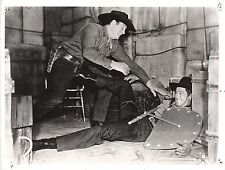 "CLAYTON MOORE in the SERIAL: ""Ghost of Zorro"" Original Vintage Photo 1949"