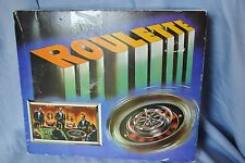 Bally's Grand Hotel Gift Shop ROULETTE game mini plastic layout spinner chips