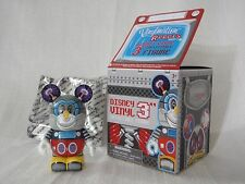 "2012 Disney Vinylmation Robots #3 Robot MICKEY MOUSE BOT WITH QR CODE 3"" Figure"