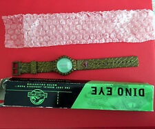 Dino Eye The Lost World Jurassic Park Wristwatch Watch Original Box