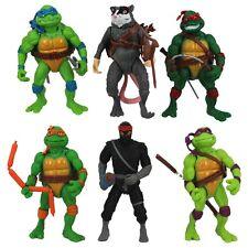 6 piezas Tortugas Ninja Figuras De Acción Colección Clásica Set Juguete WSN#