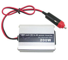 200W Car Power Inverter USB Converter Auto DC 12V To AC 220V Adapter Voltage