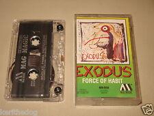EXODUS - Force Of Habit - MC Cassette un/official polish tape MAG MAGIC press