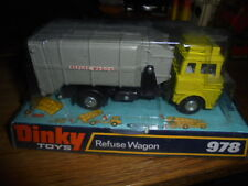 DINKY TOYS MODEL No.978 BEDFORD REFUSE WAGON MINT SEALED BOX 1974