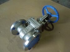 """GATE VALVE 2"""" 150 RF FLANGED OIC S151-G 316 STAINLESS STEEL       269WH"""