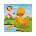 Wooden Duck Jigsaw Toys For Kids Education &Learning Puzzles Toys Free Shipping