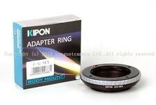 Kipon Adapter Contax G/G2/G1 lens to Sony E mount NEX-7/6/5 full frame a7/a7r