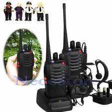 Pair Baofeng BF-888S UHF400-470MHz 5W Handheld Two-way Radio Walkie Talkie