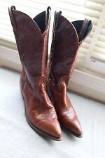 Women's  Great pair of Black Brown CODE WEST  Western Boots Size 8.5 -9 M