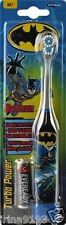 Batman Kids Girl Turbo Power Battery Powered Toothbrush Age 2-6years