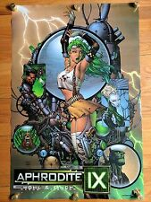"VTG Aphrodite IX Promo Poster David Finch Top Cow Comic 36"" x 24"" 2000 Top Cow"