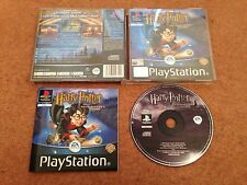 Harry Potter y la filosofal juego Sony PlayStation 1 PS1 PS2 Con Manual