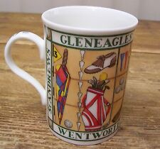 Scotland Gleneagles St Andrews Wentworth Carnoustie Golf Cup Mug Crown Trent
