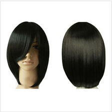 Hot black Straight Short Bob Hair Wigs Women's Fashion Cosplay Costume Party Wig