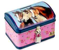 Piggy bank Tin money box Horse friends 13372 Spiegelburg - new