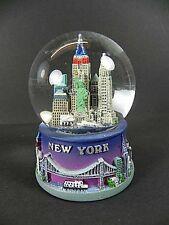 NEW York SFERA DI NEVE SNOWGLOBE 9cm, souvenir USA, Empire, Ponte di Brooklyn...