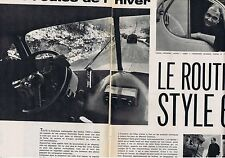 COUPURE DE PRESSE CLIPPING  094 1964 LE ROUTIER STYLE 1964 (4 pages)